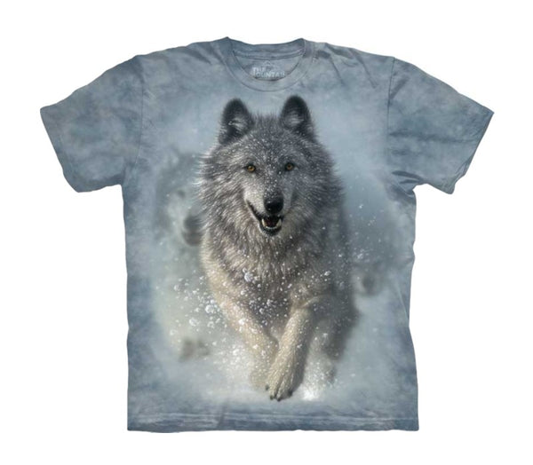 Snow Plow Wolf Childrens T-Shirt