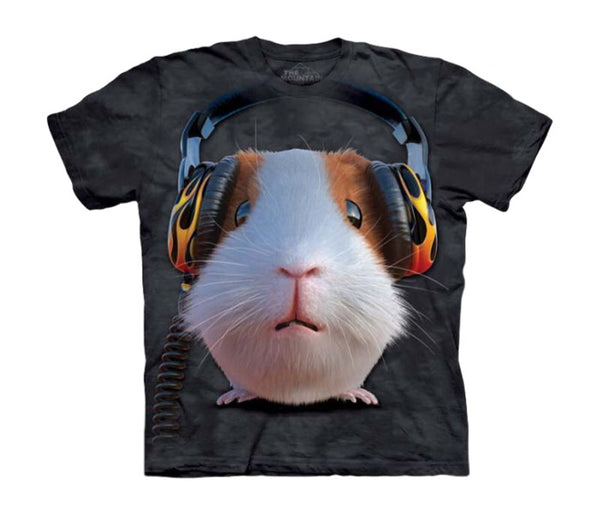 DJ Guinea Pig Childrens T-Shirt