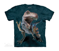 Peace Rex Childrens Dinosaur T-Shirt