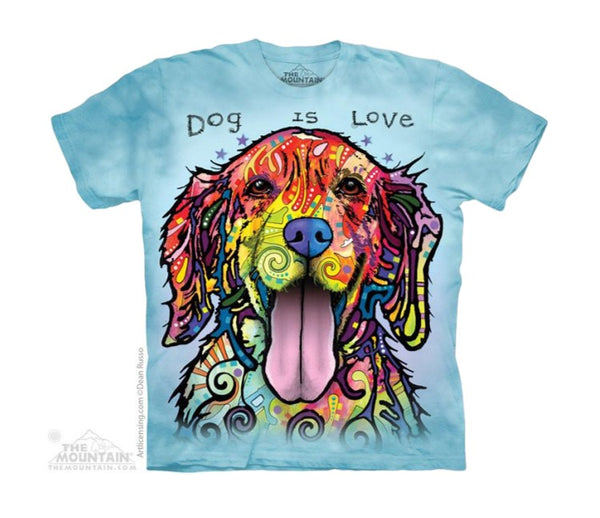 Dog Is Love Childrens T-Shirt