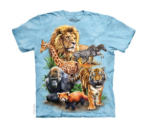 Zoo Collage Childrens T-Shirt
