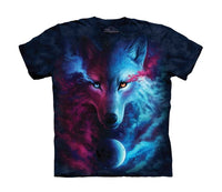 Where Light & Dark Meet Wolf Childrens T-Shirt