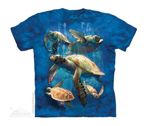 Sea Turtle Family Childrens T-Shirt