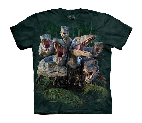 Raptor Gang Childrens Dinosaur T-Shirt