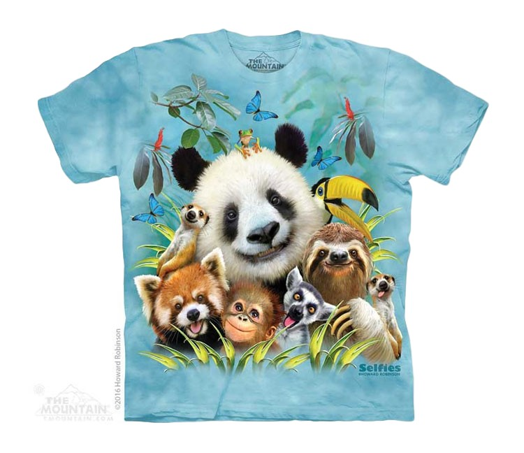 Zoo Animal Selfie Childrens T-Shirt