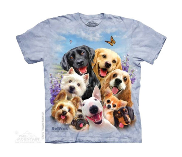 Dog Selfie Childrens T-Shirt