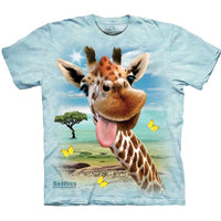 Giraffe Selfie Childrens T-Shirt