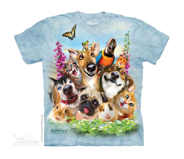 Pet Selfie Childrens T-Shirt
