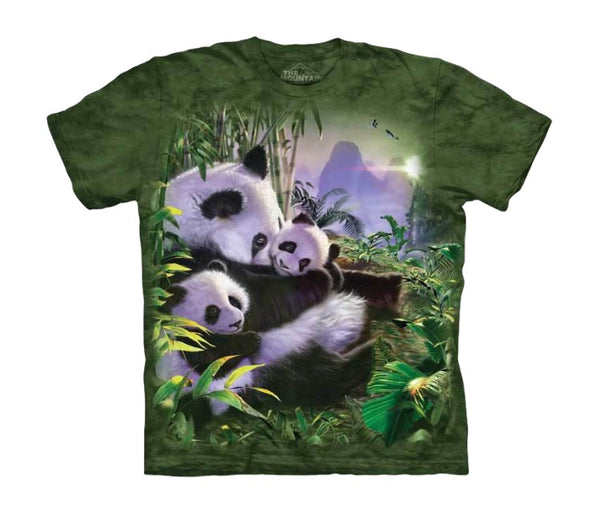 Panda Cuddles Childrens T-Shirt