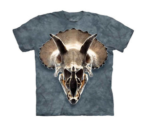 Triceratops Skull Childrens T-Shirt