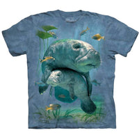 Manatee Collage Childrens T-Shirt