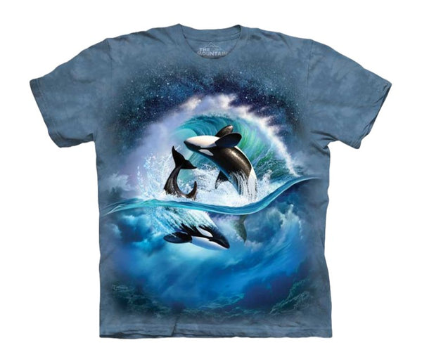 Orca Wave Childrens T-Shirt