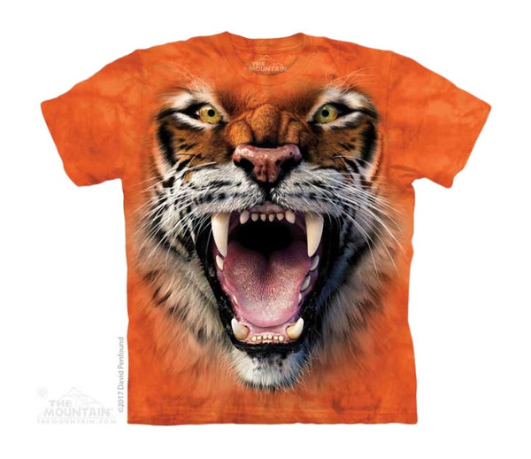 Roaring Tiger Face Childrens T-Shirt