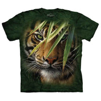 Emerald Forest Tiger Childrens T-Shirt