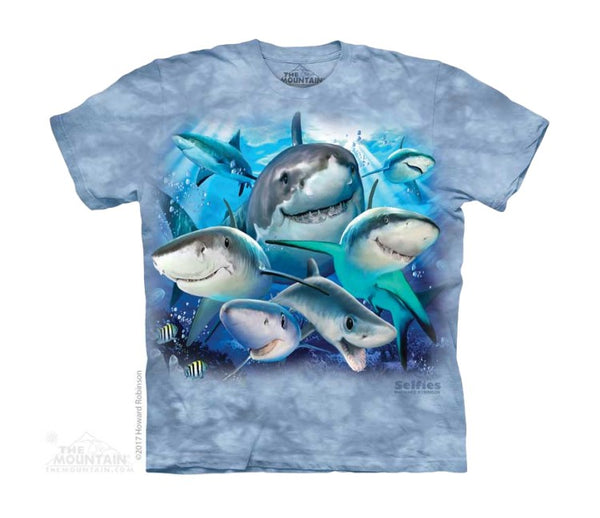 Sharks Selfie Childrens T-Shirt