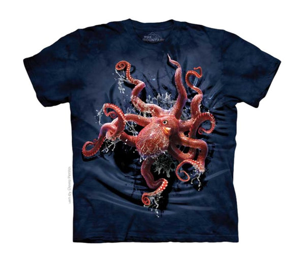 Octopus Climb Childrens T-Shirt