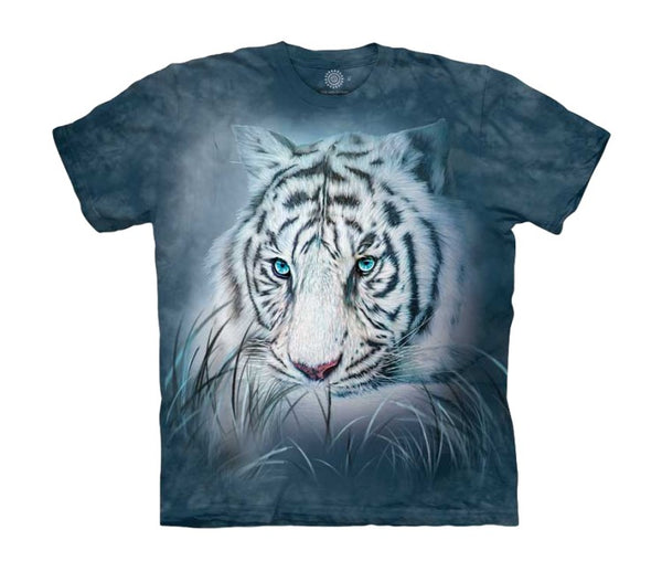 Thoughtful White Tiger Childrens T-Shirt
