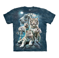 Night Tiger Collage Childrens T-Shirt