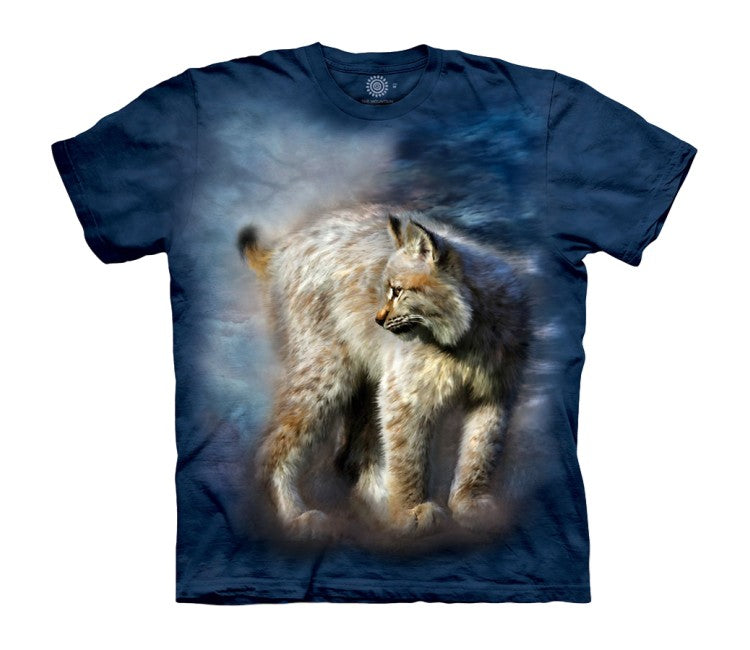 Silent Spirit Lynx Childrens T-Shirt