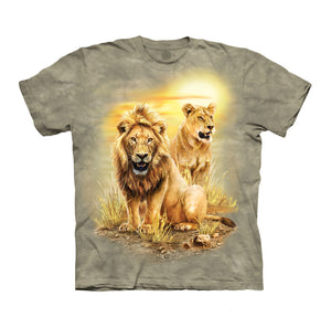 Lion Pair Childrens T-Shirt