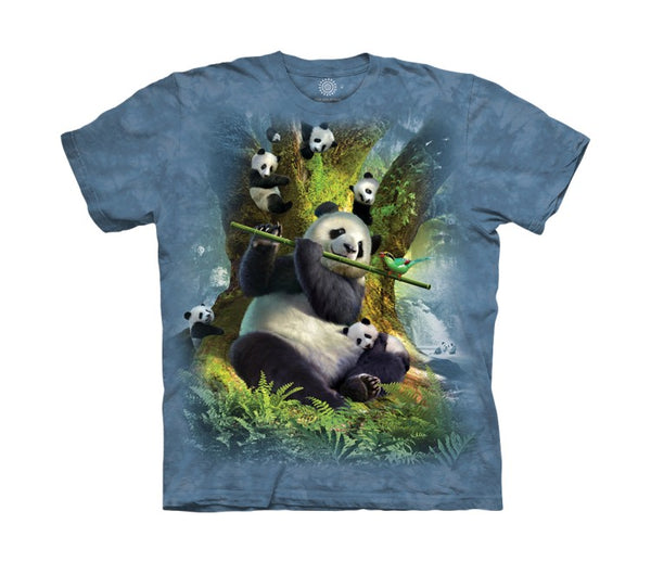 Pan Da Bear Childrens T-Shirt