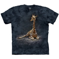 Giraffe Calf Childrens T-Shirt