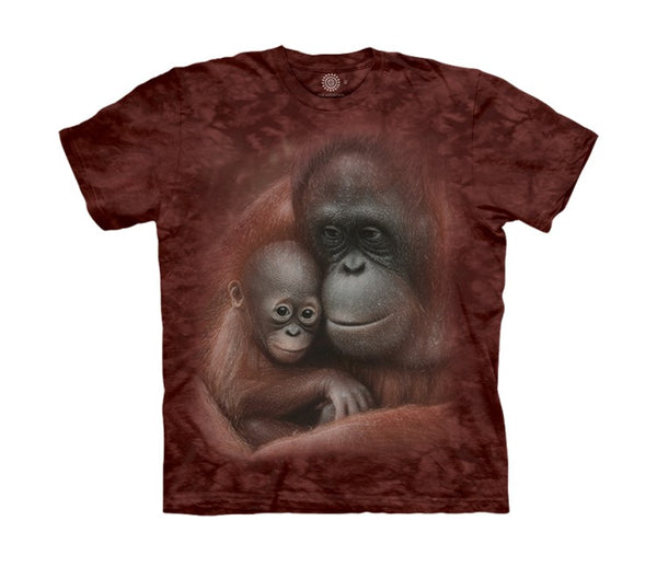 Snuggled Orangutans Childrens T-Shirt
