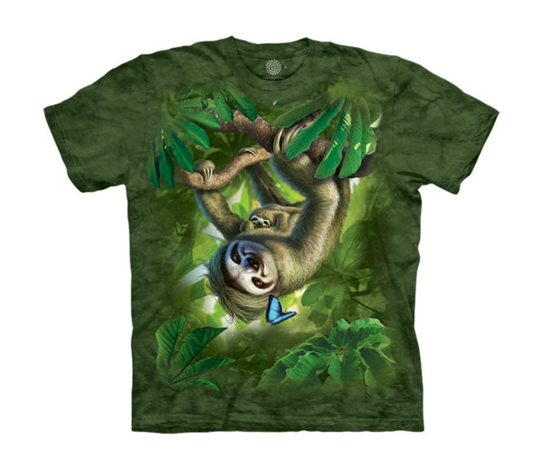 Sloth Mama Childrens T-Shirt