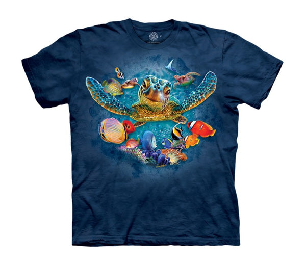Tiny Bubbles Turtles Childrens T-Shirt
