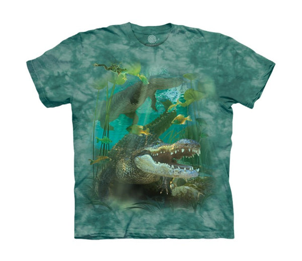 Alligator Swim Childrens T-Shirt