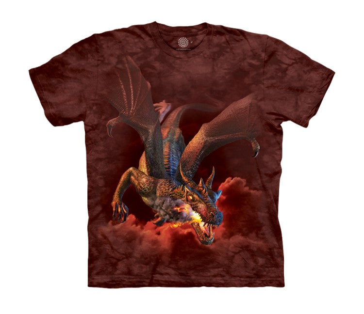 Furnace Face Dragon Childrens T-Shirt