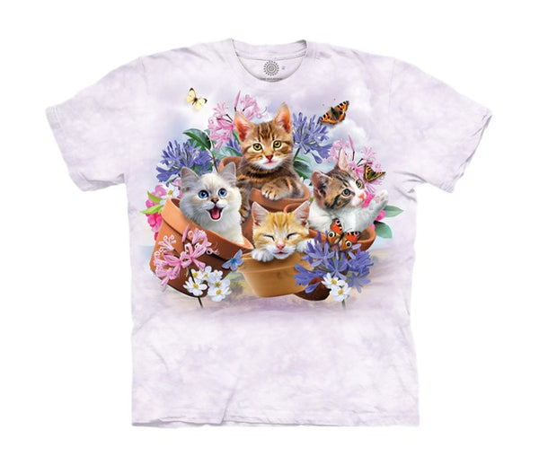 Garden Wonders Cats Childrens T-Shirt