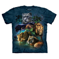 Big Cats Jungle Childrens T-Shirt