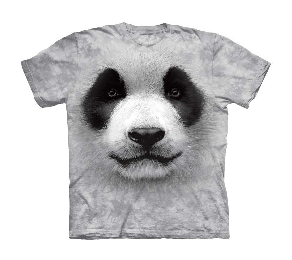 Big Face Panda Childrens T-Shirt