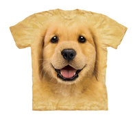 Golden Retriever Puppy Childrens T-Shirt