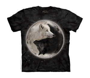 Yin Yang Wolves Childrens T-Shirt