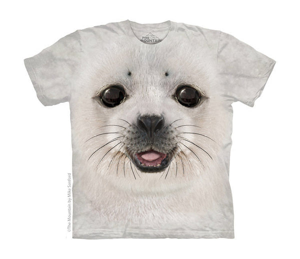 Baby Seal Face Childrens T-Shirt