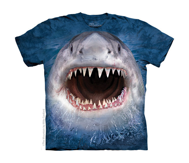 Wicked Nasty Shark Childrens T-Shirt
