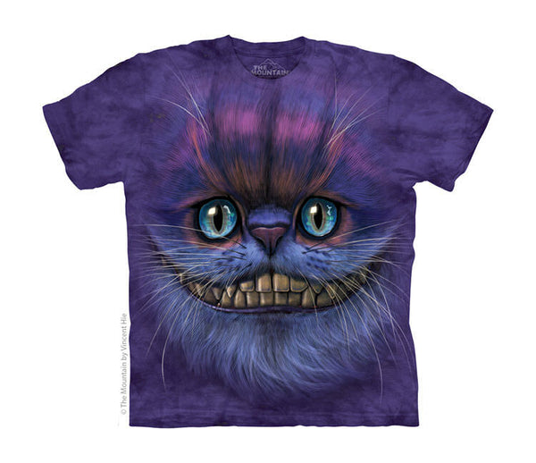 Cheshire Cat Face Childrens T-Shirt