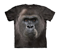 Big Face Lowland Gorilla Childrens T-Shirt