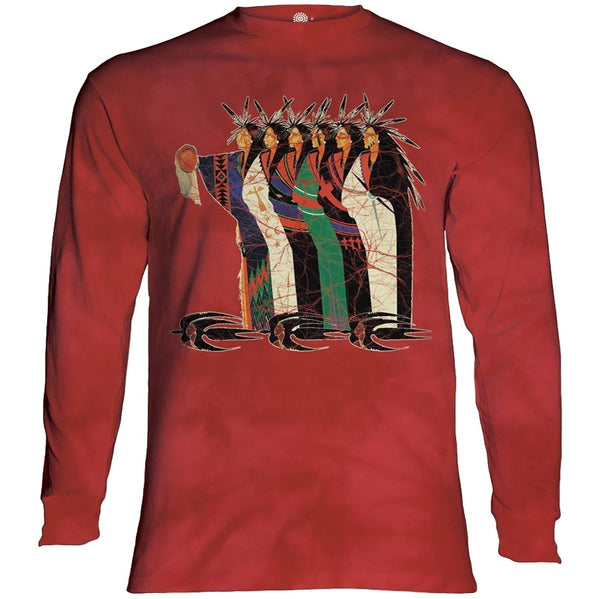 Meeting of the Clanseekers Adults Long Sleeve T-Shirt