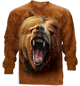 Grizzly Growl Adults Long Sleeve T-Shirt