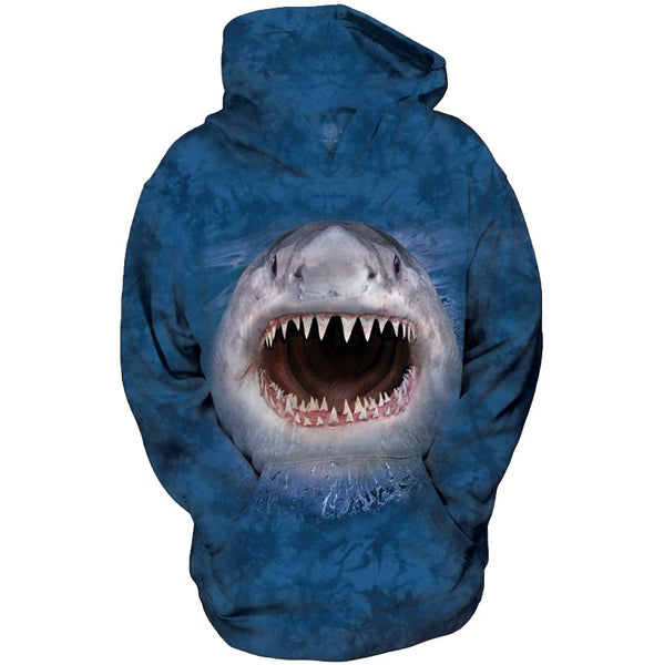 Wicked Nasty Shark Childrens Hoodie