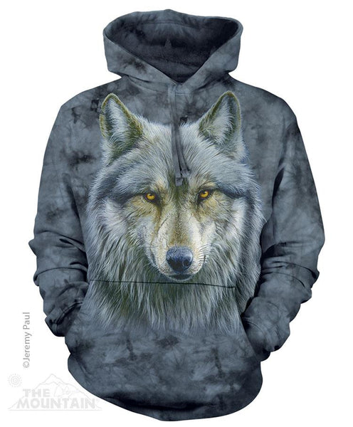 Warrior Wolf Adults Hoodie