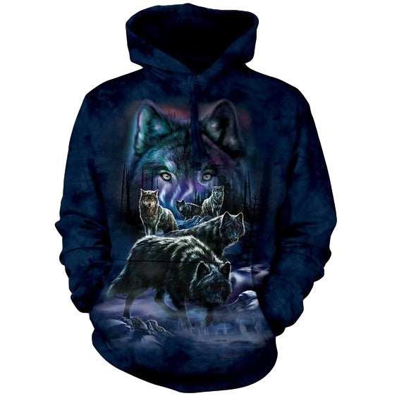 Wolf Pack Adults Hoodie