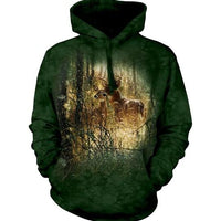 Golden Moment Deer Adults Hoodie