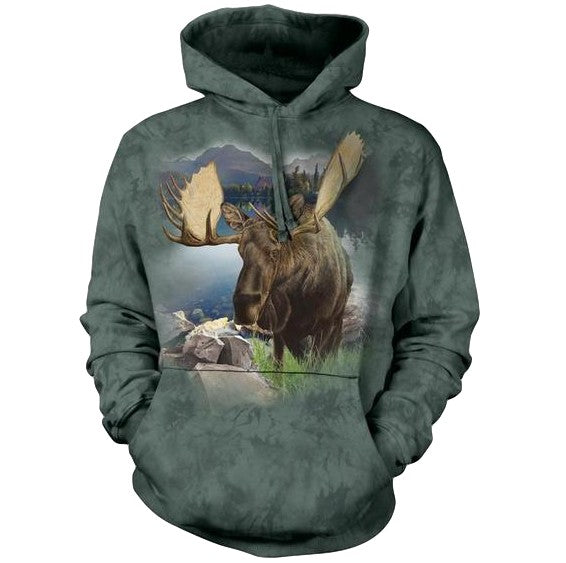 Monarch of the Forest Adults Hoodie