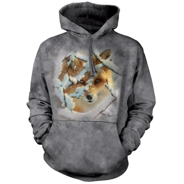 Hide and Seek Fox Adults Hoodie