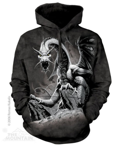 Black Dragon Adults Hoodie