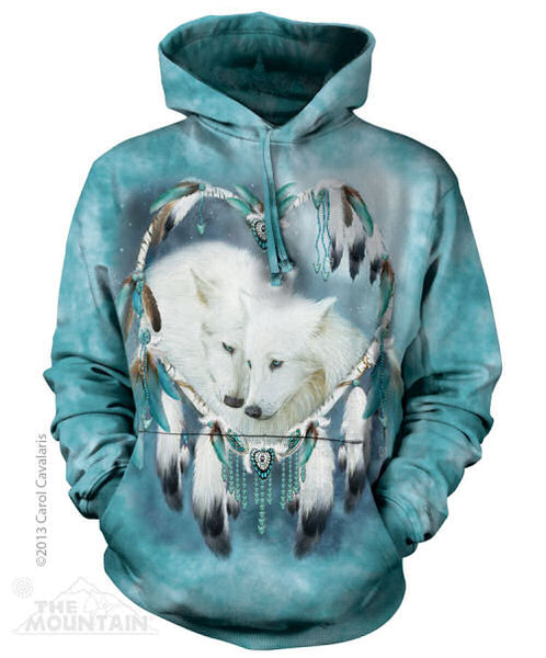 Wolf Heart Adults Hoodie